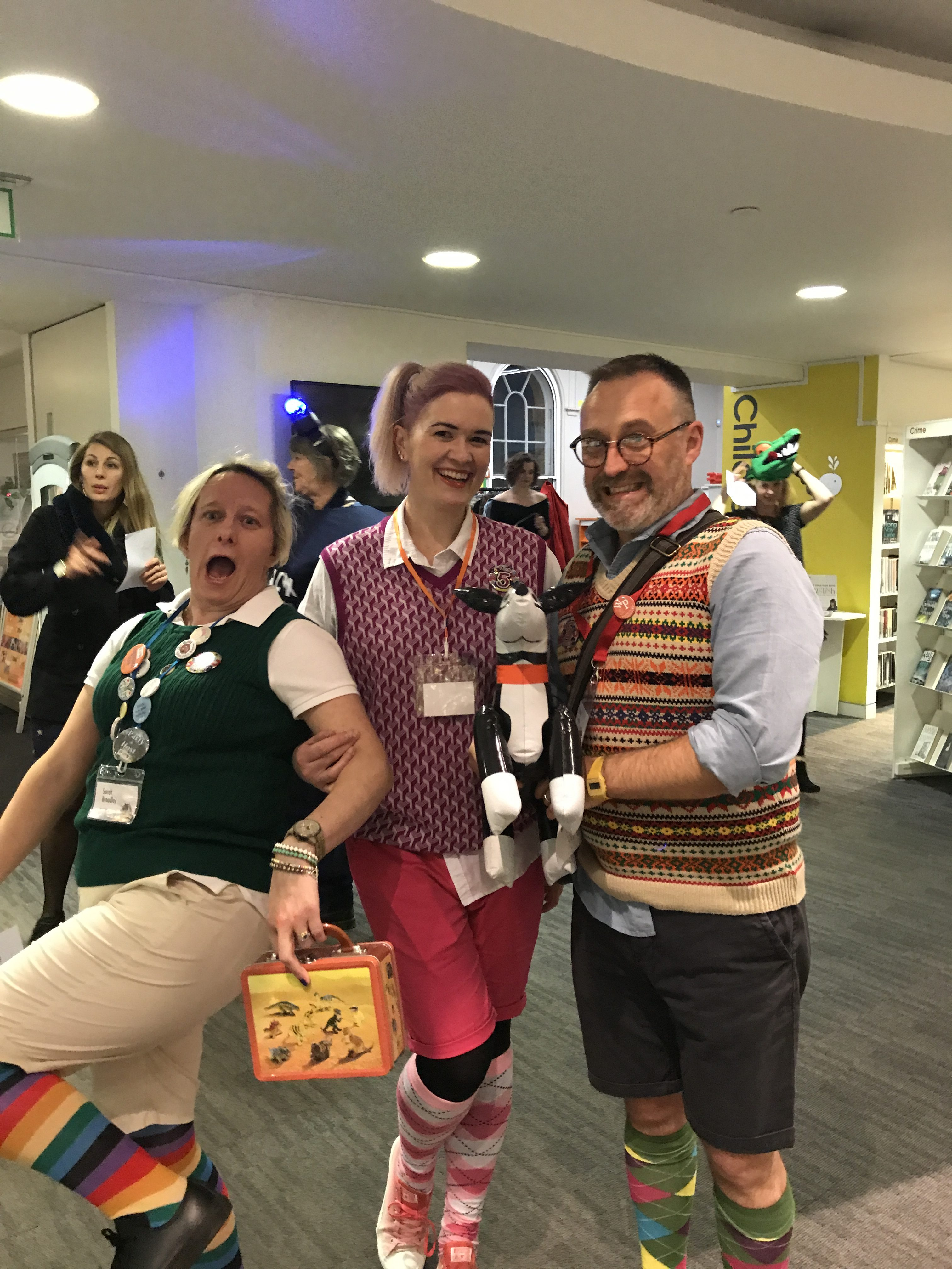 SCBWI Party 2